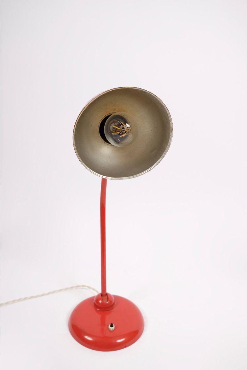 Christian Dell Kaiser Idell Model 6556 Bordlampe Rød #9122