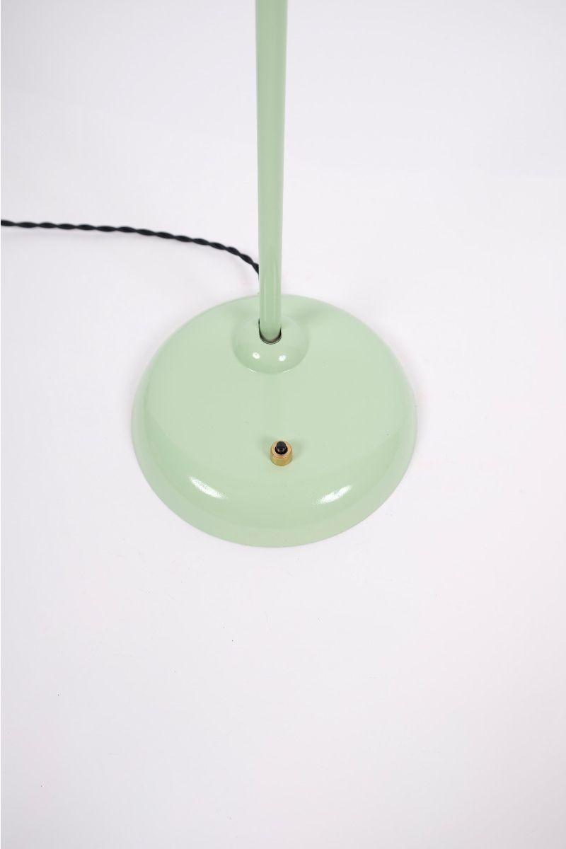 Christian Dell Kaiser Idell Model 6556 Super Bordlampe Mintgrøn #9265
