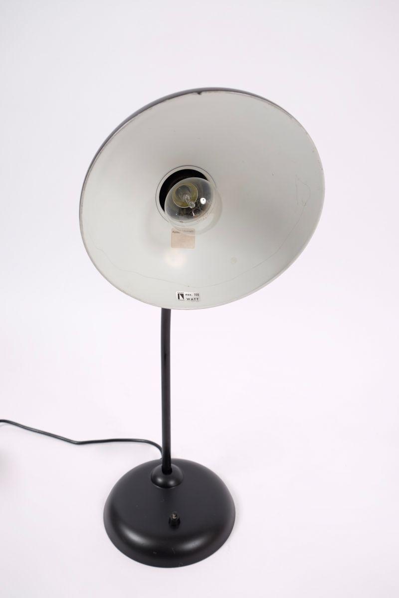 Christian Dell Kaiser Idell Model 6556 Super Bordlampe Matsort #7945