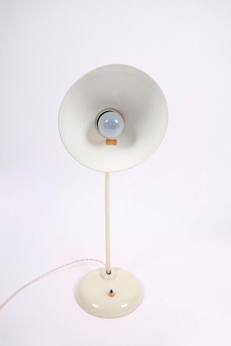 Christian Dell Kaiser Idell Model 6556 Super Bordlampe Elfenbensfarvet #9097