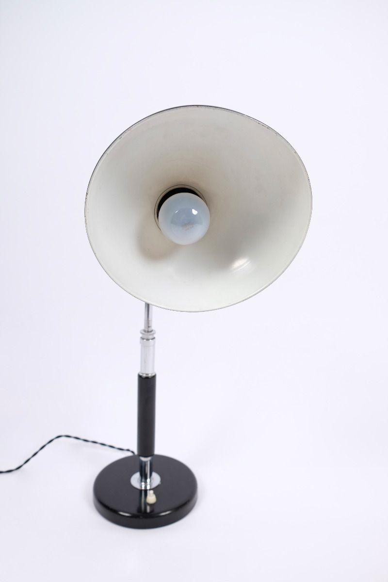 Christian Dell Kaiser Idell 6607 Super Bordlampe Sort #9422