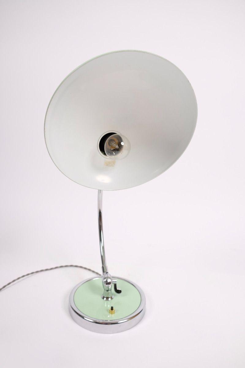 Christian Dell Kaiser Idell Model 6631 President Bordlampe Mintgrøn #8266