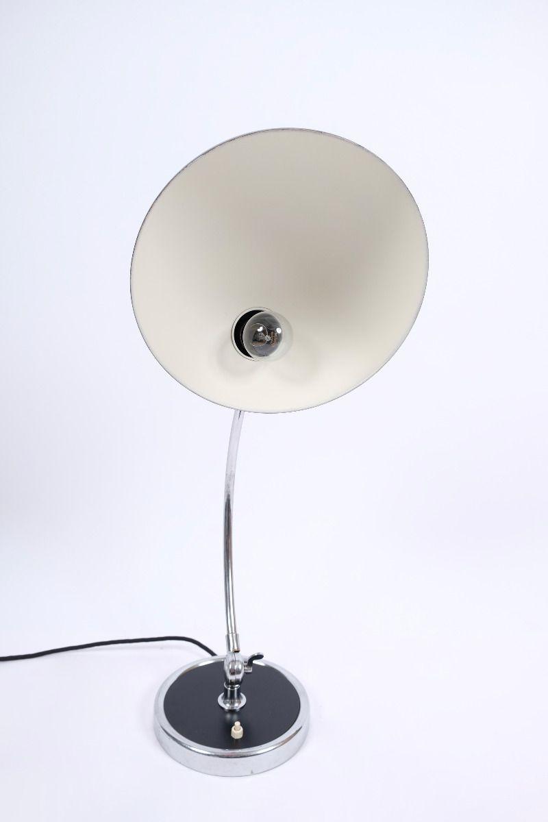 Christian Dell Kaiser Idell Model 6631 President Bordlampe Matsort #9501
