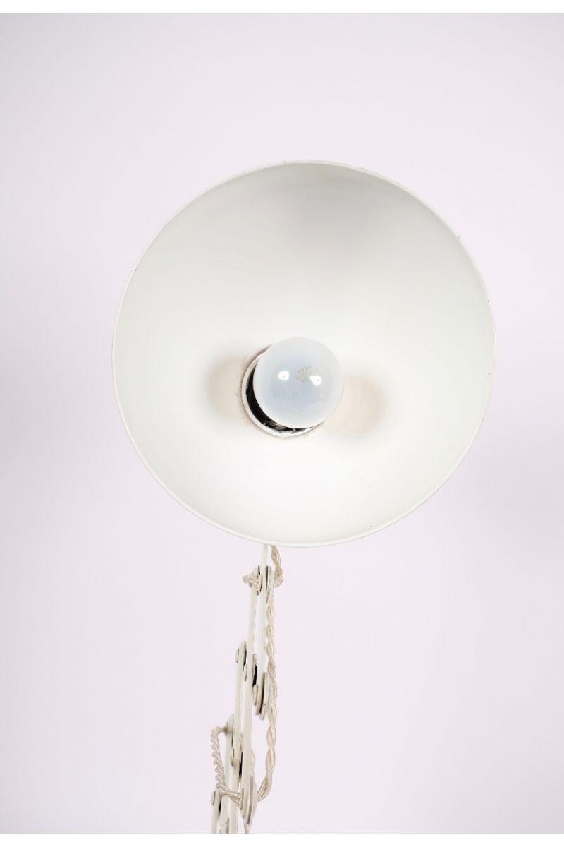 Christian Dell Kaiser Idell Model 6614 Super Sakselampe/Væglampe Elfenbensfarvet #7890
