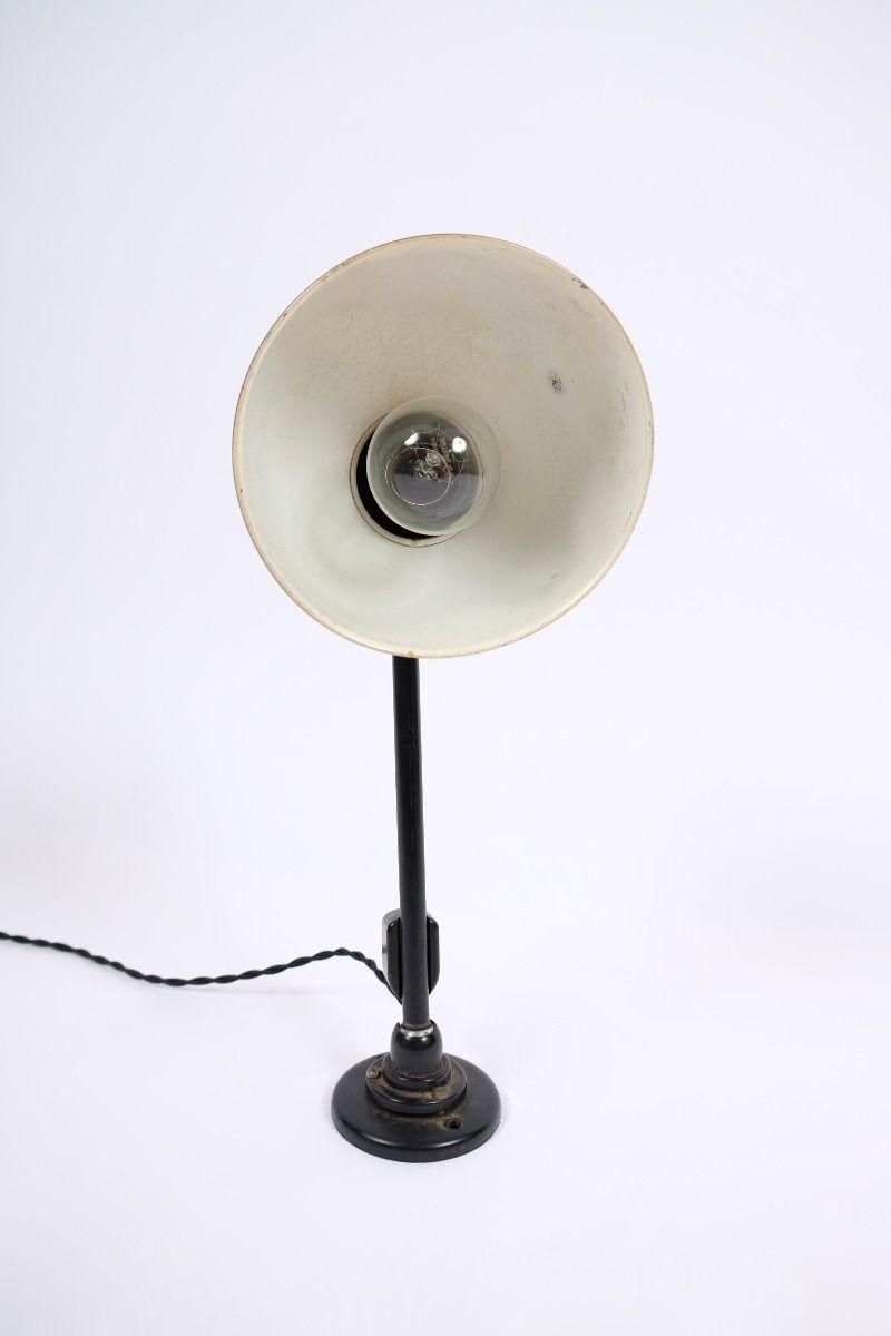 Christian Dell Kaiser Idell Model 6723 Væglampe Sort #9817