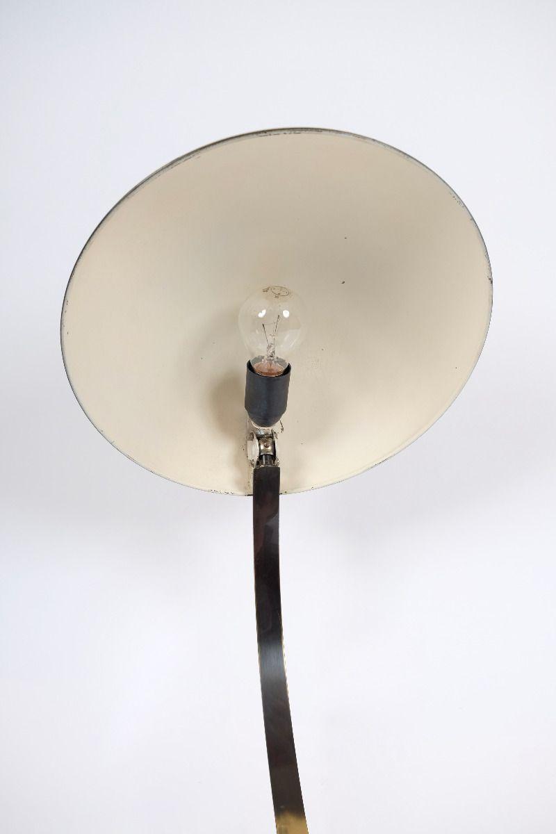 Christian Dell Kaiser Idell Model 6751 Messing Bordlampe #9645