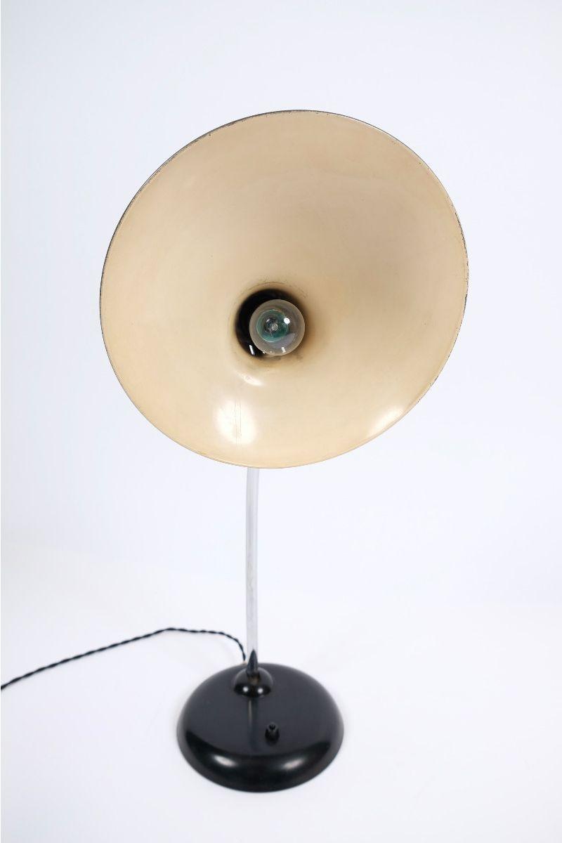 Christian Dell Kaiser Idell Model 6786 Bordlampe Sort #9655