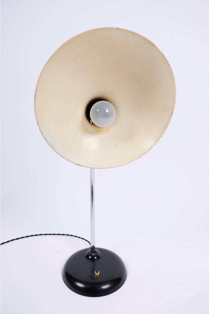 Christian Dell Kaiser Idell Model 6786 Bordlampe Sort #8770