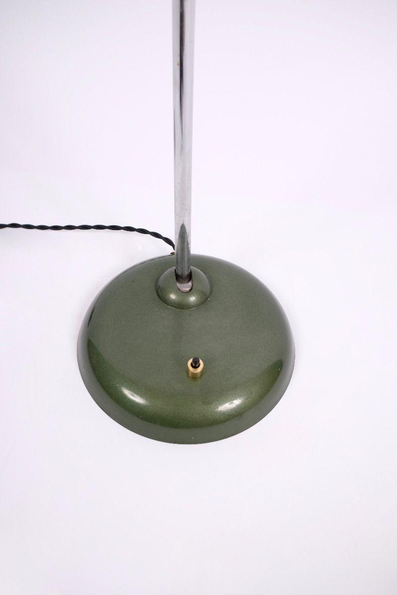 Christian Dell Kaiser Idell Model 6786 Bordlampe Grøn #9244