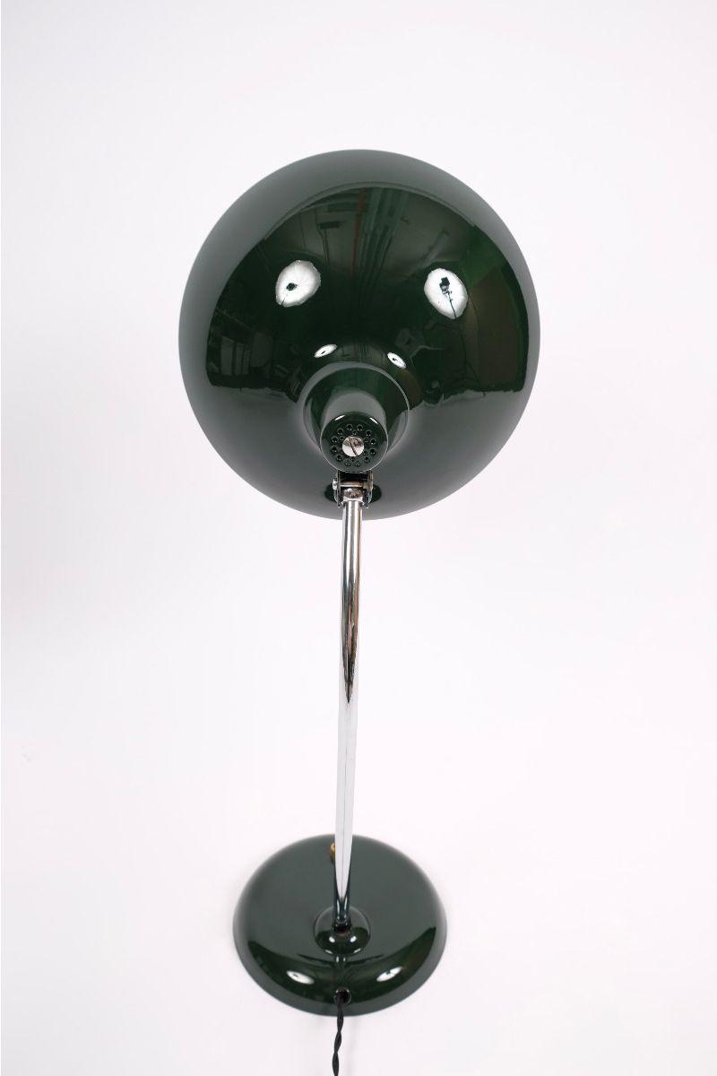 Christian Dell Kaiser Idell Model 6786 Bordlampe Jaguargrøn #9717