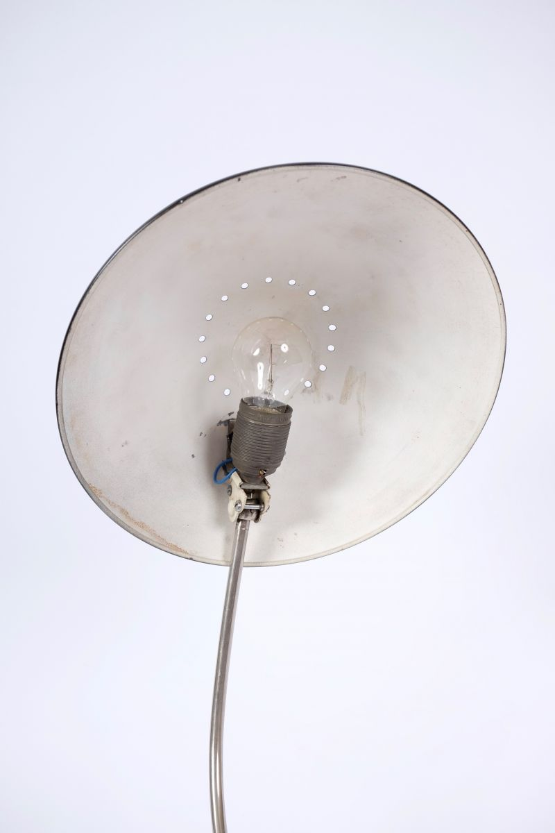 Christian Dell Kaiser Idell Model 6840 Bordlampe Sort #7996