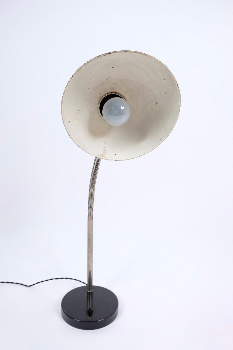 Christian Dell Kaiser Idell Model 6561 Super Flexarm Bordlampe Sort #9390