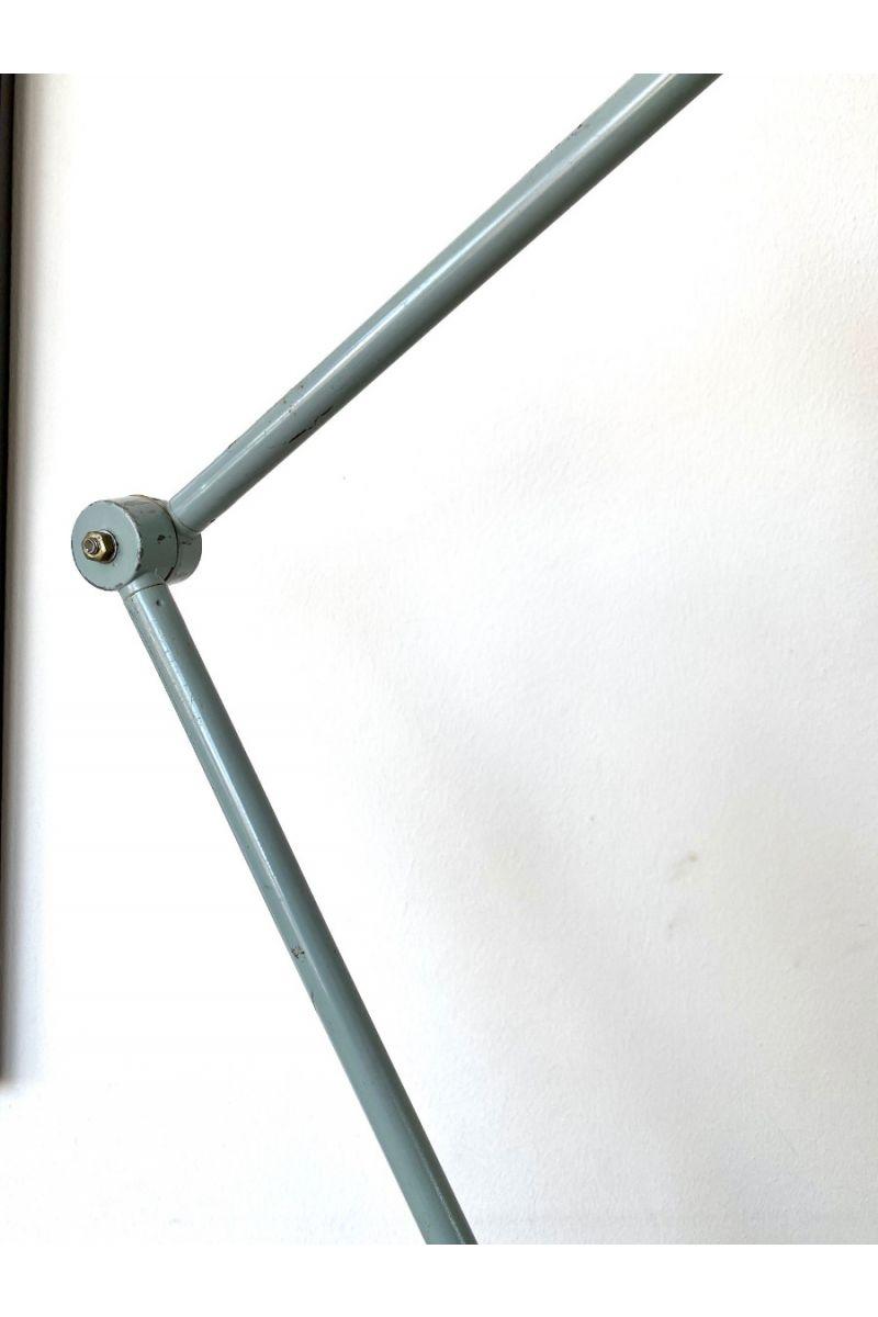 Tysk Vintage Midgard Bordlampe Blå #9337