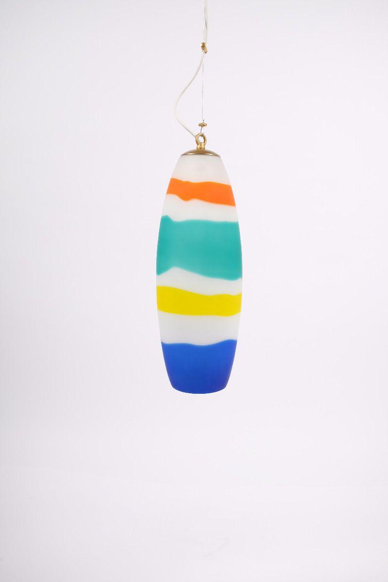 Italiensk Murano Loftlampe Ø15 #9688