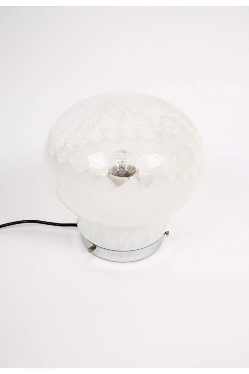 Italiensk Vintage Murano Bordlampe #8657