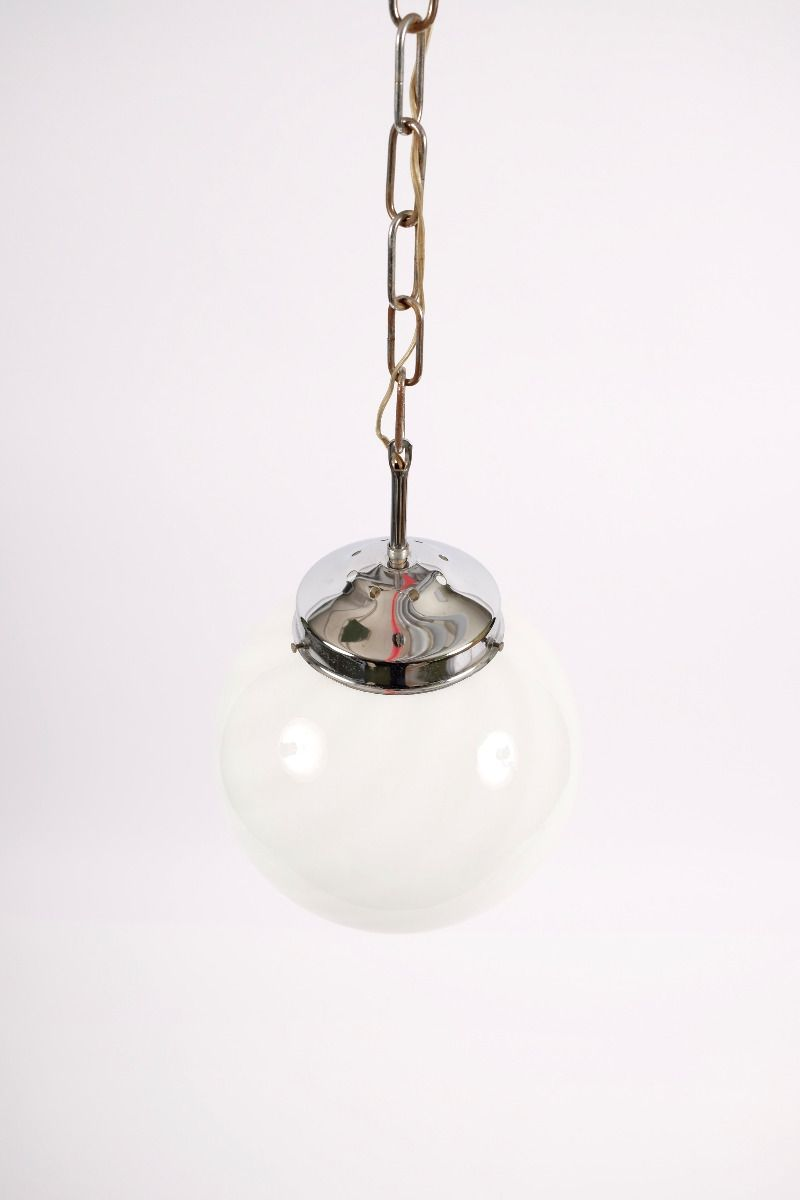 Italiensk Vintage Murano Loftlampe Ø23 #9290