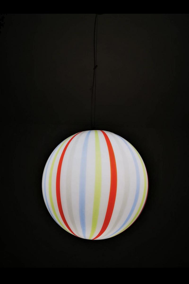Murano Glaspendel Ø40cm (pris pr. stk.) #8215