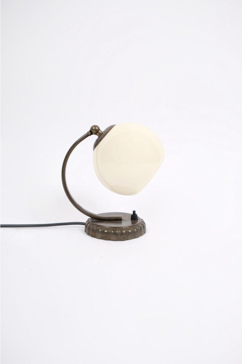 Tysk Art Deco sengebordslampe #10030
