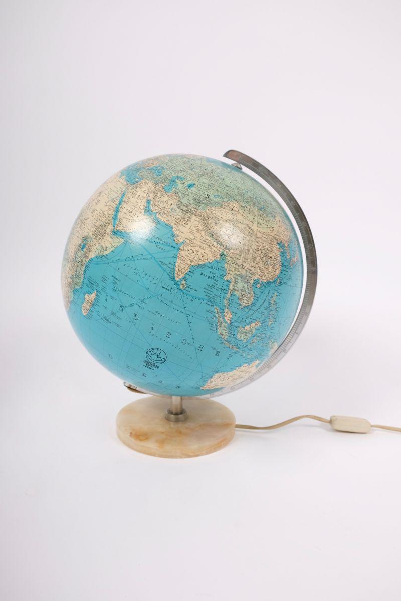 Tysk Vintage Globus i Glas#8299